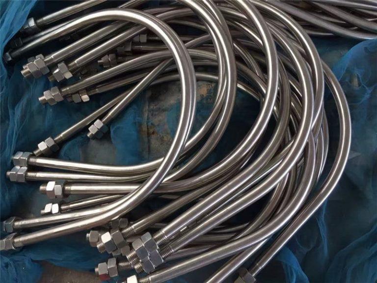 চীন থেকে alloy825 এন 2.4858 স্টেইনলেস স্টিল ইউ বল্ট alloy718 en2.4668