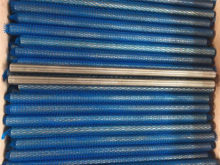 নিকেল খাদ inconel601 / 2.4851 ট্র্যাপিজয়েডাল থ্রেডযুক্ত রড নতুন পণ্য