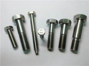 No.25-Incoloy a286 hex bolts 1.4980 a286 fasteners gh2132 স্টেইনলেস স্টিল হার্ডওয়্যার মেশিন স্ক্রু ফিক্সিং
