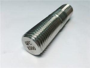 No.62-Monel K500 থ্রেডযুক্ত রড