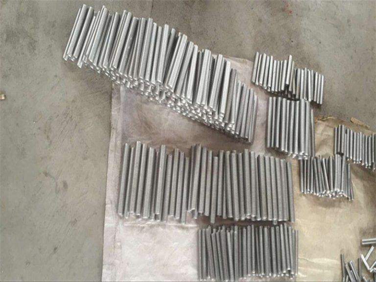 ইনকোনেল 718 625 600 601 ট্যাপ হেক্স স্টাড বল্ট এবং বাদাম বন্ধনকারী M6 M120